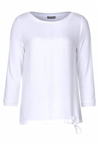 Top with drawstring White