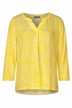 Blouse mixprint Shiny Yellow