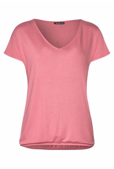 Ramona v-neck Blomming Peach