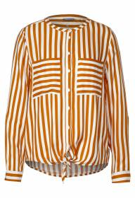 LdtQR Blouse strip Floxy Caramelle