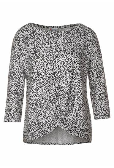Top printed knot Black/White