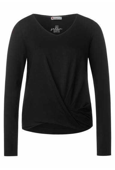 Top LdtQR with knot Black