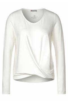 Top LdtQR with knot Offwhite