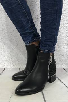 Boots Leo Silver