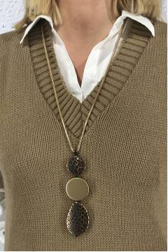 co450 Neckles Gold/Leo