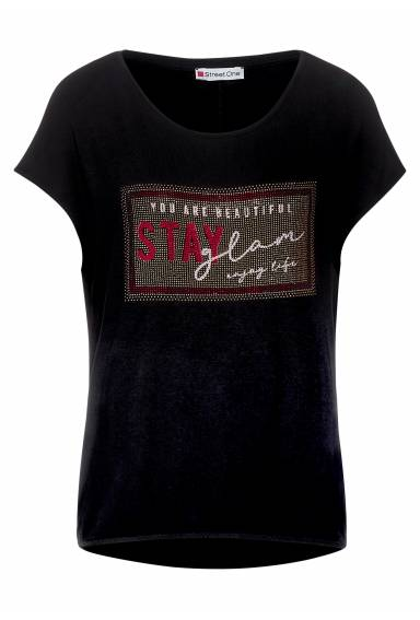 Top artwork Stay Glam Black