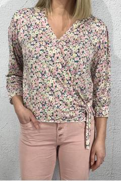 Keira Top small flowered Pink