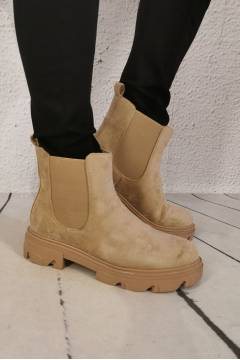 Boots Taupe