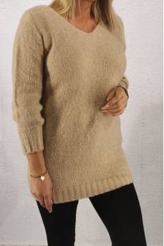 3108 Sweater knitted Sand