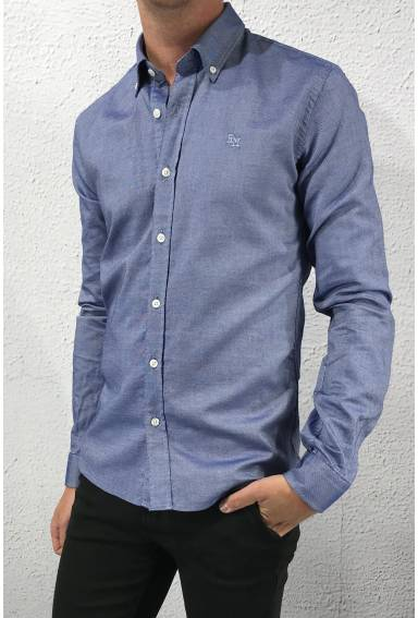 Edmund Shirt Navy