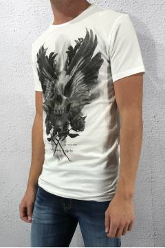 Tee wings White